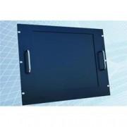 Techly Professional Monitor LCD 17'' per Rack 19'' 8 Unità Nero