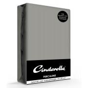 Cinderella Hoeslaken Percaline Optiform Antracite-90 x 200 cm