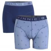 Vinnie-G boxershorts Ski Dark - Print 2-pack -XXL