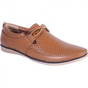Shoebook Casual Mens Tan Loafers