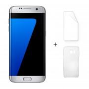 Samsung Galaxy S7 Edge G9350 5,5 Pulgadas Quad Core 4 GB RAM 32 GB ROM Plata + Protector De Pantalla + Estuche