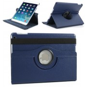Apple iPad Air 1 – 360° draaibare Hoes – Lederen – Donker Blauw