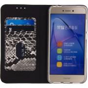 Mobilize SE Premium Gelly Snake Huawei P8 Lite (2017) Book Case Zwart