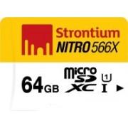 Strontium Nitro 64 GB SDXC Class 10 85 Mbps Memory Card