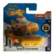 Hot Wheels The Beatles Yellow Submarine (International Short Card Variant)