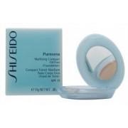 Shiseido Pureness Matifying Compact Oil-free Base De Maquillaje En Polvo SPF15 Natural Ivory