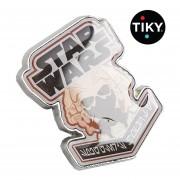 Funko Pin Jedi Master Plo Koon Star Wars De Smuggler Metalico