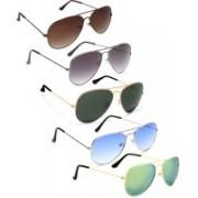 David Martin Aviator Sunglasses(Green, Brown, Blue, Grey)
