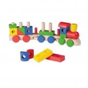 Joueco Jucarie din lemn Trenulet