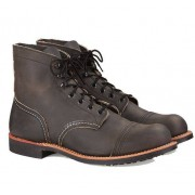 Red Wing Iron Ranger Herr, Charcoal, 45