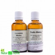 Pachet Ulei esențial de Lavanda 50 ml & Arbore de ceai 50 ml
