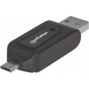 Cititor de carduri OTG Manhattan 21 in 1 USB 2.0 la micro USB