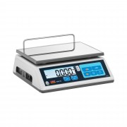 Weighing scale - Calibrated - 30 kg / 10 g - LCD - Memory