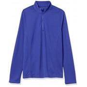 PGA TOUR Women's Long Sleeve Sun Protection Top, clematis blue M