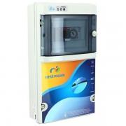 Centrocom Coffrets électriques Coffret de filtration 1 projecteur LED 100W - 4 à 6,3 A - Centrocom