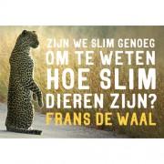 Zijn we slim genoeg om te weten hoe slim dieren zijn - Frans de Waal