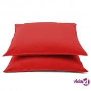 Emotion jastučnice koje se ne glačaju 2 kom 60 x 70 cm crvene 0222.80.71