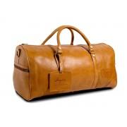 Bagasi SE Weekendväska i läder XL - Cognac