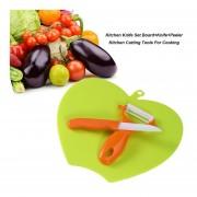 Set De Cuchillos De Cocina+placa+Cuchillo Pelador De Cocina Herramientas De Corte Para Cocinar