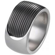 Calvin Klein Inel din oțel Audacious KJ4CMR2801 pentru bărbați 57 mm