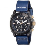 Fossil End Of Season Modern Mac Analog Black Dial Mens Watch - Fs5066