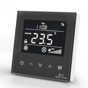 MCO Home - Fan Coil Thermostat (4 тръби) - черен