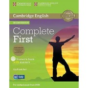 Complete First Students Book Pack Students Book with Answers with C...