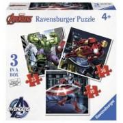 Puzzle Razbunatorii 253649 Piese