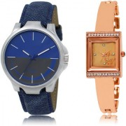 The Shopoholic Blue Grey Rose Gold Combo Best Combo Pack Blue And Grey And Rose Gold Dial Analog Watch For Boys And Girls Watches For Men Formal