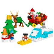 LEGO® DUPLO® - Vacanta de iarna cu Mos Craciun - L10837