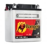 Banner 6N11A-3A Bike Bull motorkerékpár akkumulátor - 01211
