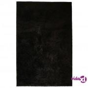 vidaXL Čupavi ukrasni tepih 180 x 280 cm crni
