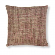 Kave Home Funda cojín Boho 45 x 45 cm rosa