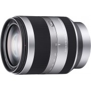 Sony - 18-200mm f/3.5-6.3 Alpha E-Mount Lens for Alpha NEX DSLR Cameras - Silver