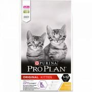Purina Pro Plan Original Kitten bogata în Pui