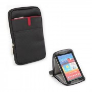 "Sleeve for Tablet, Luckysky 8"", with Stand, Black/White"