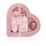 Baylis & Harding Set de produse cosmetice pentru îngrijirea corpului Jojoba, ulei de vanilie și migdale 3 buc