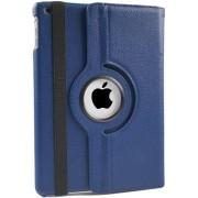 iPad Hoes 360° Draaibaar Leer Donker Blauw. Voor de iPad Air 2.
