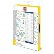 Bullyland LEGO® Notizbuch m.Lesezeichen (weiß)