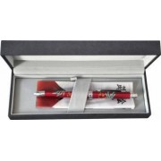 Pix multifunctional de lux PENAC Maki-E - Hoo-oo in cutie cadou corp bordeaux