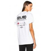 VETEMENTS 100% Pro Tee in White. - size L (also in M,S,XS)