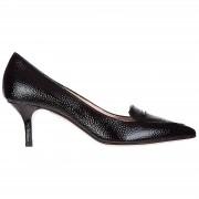 Manzoni Decolletes decoltè scarpe donna con tacco pelle