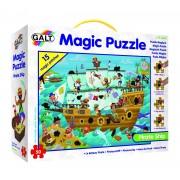 Puzzle pentru baieti Galt Corabia piratilor, 50 piese, 4-8 ani