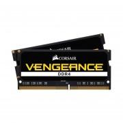 Memorias Ram DDR4 Sodimm Corsair Vengeance 16GB 2666MHz Kit 2x8 CMSX16GX4M2A2666C18