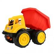 Generic Durable Push Around Sand Truck Model Beach Toy for Kids-Dump Truck