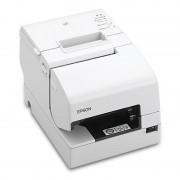 Imprimanta de bonuri Epson TM-H6000V MICR USB Ethernet alba