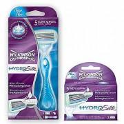 Wilkinson Hydro Silk Combi App+ 3 mesjes