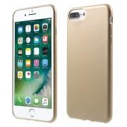 Gouden hoesje iPhone 7 Plus 8 Plus Silicone cover Golden case