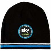 VR46 Sky Racing Team Beanie Nero Blu unica taglia