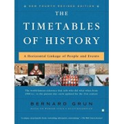 The Timetables of History: A Horizontal Linkage of People and Events, Paperback/Bernard Grun